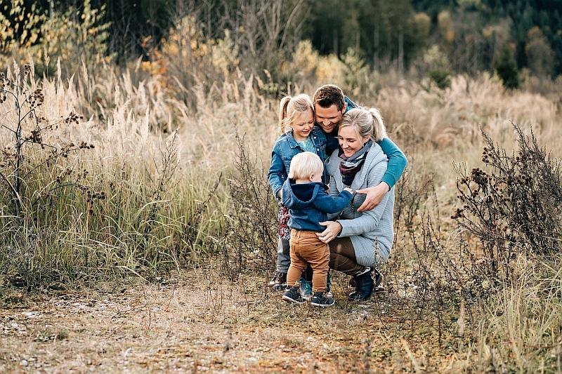 Familienfotos bei Fotograf in Vöcklabruck und Gmunden