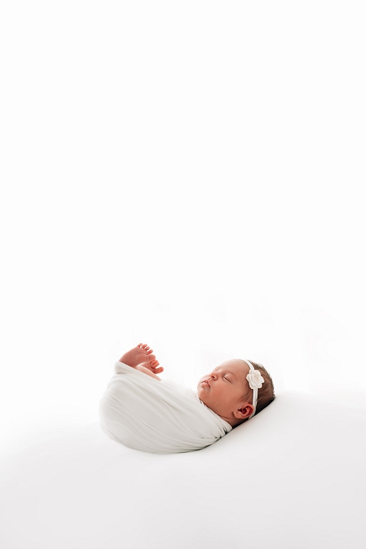 Baby fotografiert von Fotograf im Flachgau